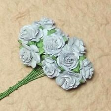 10 LILLA ROSE aperte per le schede o Crafts