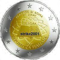 2 EURO COMMEMORATIVO ITALIA 2007 Trattato di Roma