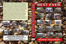 3180. Best Ever Reading Trolleybuses. UK.  Trolley Bus, Bus. 1960's. We have str