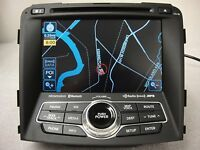 11 12 13 Hyundai Sonata Radio Cd OEM Gps Navigation System Receiver 96560-3Q205