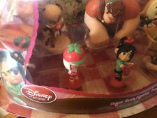Disney Wreck it Ralph cake toppers SUGAR RUSH FIGURINE PLAYSET