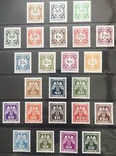Germany: Bohemia & Moravia 1941-1943 Official issues MNH