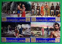 H07 Lot Fotobusta Die Gladiator Von ROM Gordon Scott Wandisa Führung Risso Farne