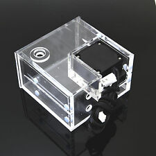 Dual CD Rom Bay Acrylic Water Tank G1/4 Thread With 18W Motor Q2 Pump 780L/H