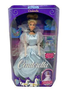 New In Box Disney Classics Cinderella Barbie Doll Vintage 1991 Mattel