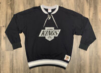 Vintage Los Angeles Kings CCM Jersey Sweatshirt Mens XL Rate NHL Hockey EUC 90s