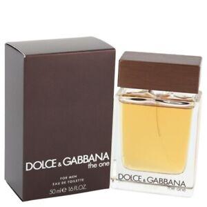 D&G THE ONE * Dolce & Gabbana for Men * 1.6/1.7oz (50ml) EDT Spray NEW & SEALED