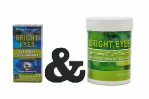 Ethos Eye Drops for Glaucoma 1 Box 10ml & Zeaxanthin and Lutein 60 Capsules