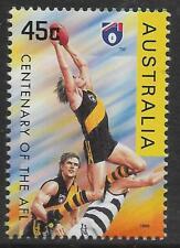 AUSTRALIA 1996 CENTENARY of AFL RICHMOND TIGERS Postage Stamp 1v MNH