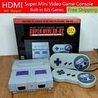 Super Nintendo Classic Edition Console Built In 821 Video Games 8Bit HDMI Output