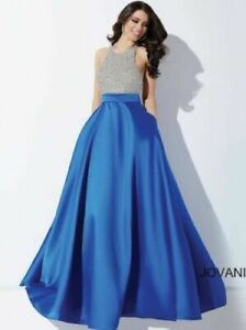 BEAUTIFUL JOVANI DRESS sz 8 STYLE 29160  worn once perfect PROM FORMAL PAGEANT