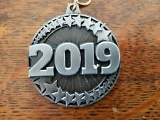 2019 Award Die Cast Metal Ribbon 50 medals Selling in Lots of 10 Free Shipping!