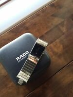 Rado Diastar 152.0826.3 High Tech Ceramic Quartz Men's Watch excellent Condition