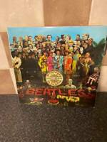THE BEATLES SGT PEPPERS LONELY HEART CLUBS BAND STEREO FRENCH ISSUE PCS 7027 VG