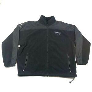 Kid Rock 2004 Pain Train Tour Sweatshirt Fleece Jacket Size XL Black Pyro Wear