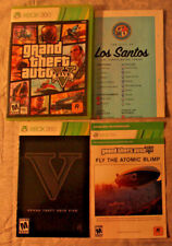 Grand Theft Auto V, GTA 5 (Microsoft Xbox 360) Replacement Manual/Map/Code/Case