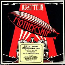 LED ZEPPELIN - MOTHERSHIP - 2 CD REMASTERED DIGIPAK EDITION - GREATEST HITS NEW