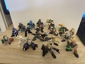 2008 2009 G.I. Joe Combat Heroes Figures Lot 18 Plus Dog Storm Shadow Rise Cobra