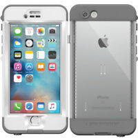 "New Lifeproof Nuud Series Waterproof Case for iPhone 6S Plus 5.5"" - White/Grey"
