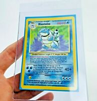 RED DOT INK Error MISPRINT BLASTOISE HOLO 2/102 BASE SET Pokemon Card #2
