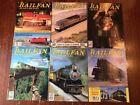 Lot f 6 Issues Railfan & Railroad Magazine 1985 Train Sherman Hill Coors Amtrak
