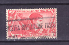 FRANCOBOLLI Italia Regno 1932 Marcia su Roma 20 c. SAS328