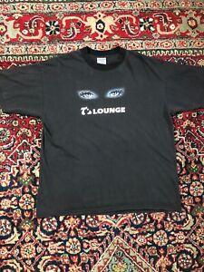 Vintage 90s T's Lounge  T shirt size XL  strip club FL