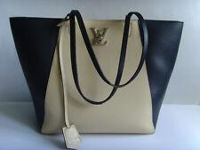 eab4d496ad43f Schöne Tasche - beige schwarz - LOCKME - Luxus Marke - Original LOUIS  VUITTON