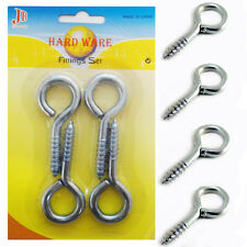 M6 Open Cup Hook Screw,Expansion Heavy Duty Bolts,Hardware Tool,Stainless Steel Silver LBY 10pc Expansion Anchor Bolt Open Cup Hooks