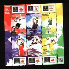 ** MNH stamps FIVB WORLD CHAMPIONSHIPS Poland 2014 VOLLEYBALL