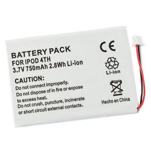 Battery for Apple iPod 4th 4 Gen M9282TA/A M9585ZV/A 616-0206 AW4701218074 M9268