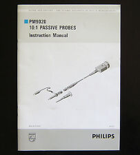 Mint Philips PM9020/001, 091 10:1 Oscilloscope Probe Instruction Manual!