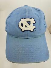 Nike Worn Faded North Carolina Tar heels Baseball Cap Hat Carolina Blue  White 38d34f37821a