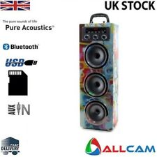 Pure Acoustics mcp30 portátil máquina de karaoke con / micro para smartphone,