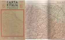 CARTA D'ITALIA 1:500.000 - FOGLIO 6