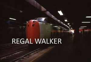 ORIGINAL 35MM CANADA CANADIAN CN RAILROAD SLIDE-CN TURBO TRAIN 150 TORONTO 1970