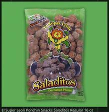 2x El Leoncito Saladitos c/Sal (Salted dry plums ) 16-oz Each bag Fresh Product