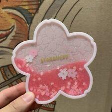 New China 2019 Starbucks Romantic Pink Sakura Water Coaster