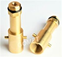 M22(21,8) UK LPG filling adapter Bayonet LPG GPL Filling PoinT LONG BRASS