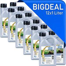 12x1l SAE30 4-Takt 4-T Rasenmäher-Öl Einbereichs Motoröl ACEA E2-04 12 Liter