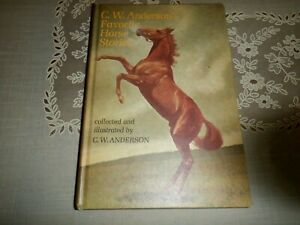C W Anderson's Faborite Horse stories, 1967 HC