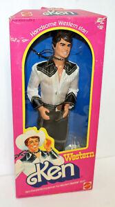 Western Ken Barbie doll #3600 Mattel 1980 NRFB