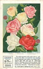 Trial Order Card, Conard & Jones Co, West Grove, Pennsylvania PA 1908