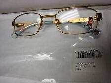 NICKELODEON NIC DIEGO 0001 BRN 44-17-120  Eyeglass Frames New