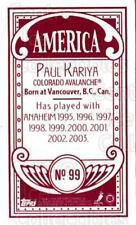 2003-04 Topps C55 Minis American Red #99 Paul Kariya