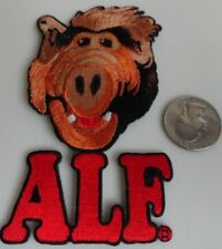 ALF Gordon Shumway Classic 1980s TV Show Embroidered Iron On Patch New - Rare