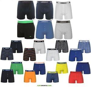 2x Lonsdale Mens Underwear Boxer Shorts Cotton Size S M L XL 2XL 3XL 4XL