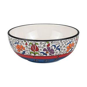 Hand-paint 6.5 inch Salad Serving Bowl, Serving Dish