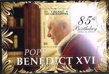 2012 St. Vincent Block 725 Papst postfrisch (MNH)