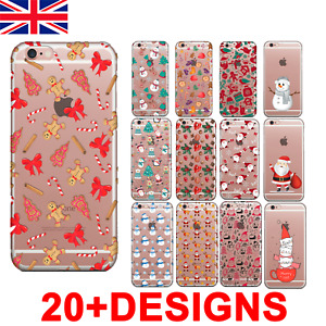 Christmas Phone Case UK iPhone 11 12 Pro MAX 6 7 8 X SAMSUNG S10 S20 P30 Lite